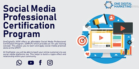 Professional Social Media Marketing Workshop tickets