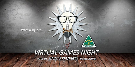 Virtual Games Night | Age 30-46 | August tickets