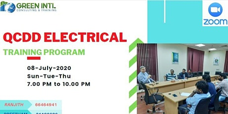 QCDD Electrical  Exam Preparation Course I Green Intl tickets
