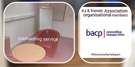 Counselling CPD minimum donation £10 to book tickets