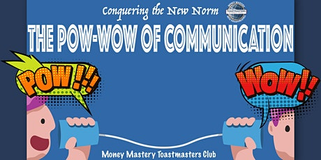 Online Public Speaking Extravaganza - The Pow-Wow of Communication tickets