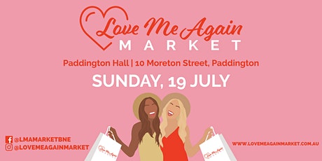 Love Me Again Pre-Loved Fashion Market - July tickets