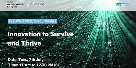 Exclusive Virtual Roundtable on Innovation to Survive and Thrive Tickets