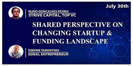 Perspective of a VC & Serial Entrepreneur on Changing Startup Landscape Tickets