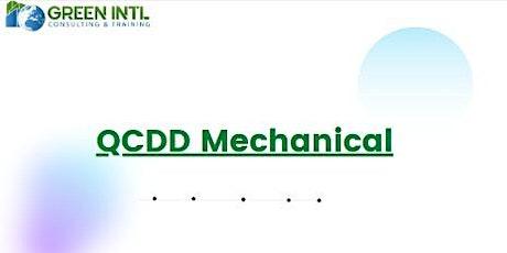 QCDD Mechanical Exam Preparation - Virtual Mode Training  tickets