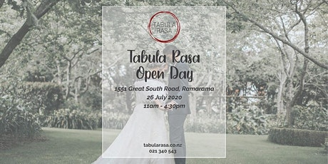 Tabula Rasa Open Day tickets