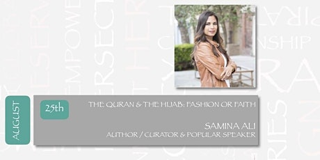 DIALOGUES ON THE ART OF ARAB FASHION - THE QURAN & THE HIJAB tickets