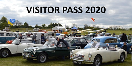 Classic Car Show & Vintage Fly-in 2021 Day Visitors tickets