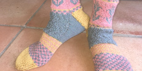Copy of Zoom Sock Knitting  Workshop tickets