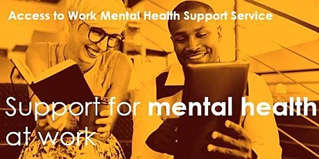 Able Futures - Access to Work Mental Health Support Service for employers tickets