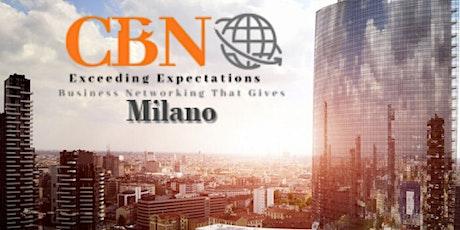 CBN Milano LIVE - business community biglietti