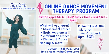 Online Dance Movement Therapy Program tickets