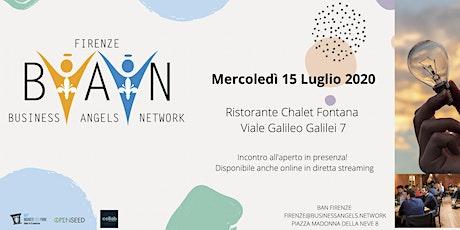 BUSINESSANGELS.NETWORK - Terzo Incontro Startup 2020 biglietti