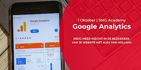 SMG Academy | Google Analytics | 1 oktober 2020 tickets