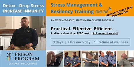 WEEKDAY PM| 6-HOUR TRAINING OPPORTUNITY FOR CORRECTIONS STAFF (EDT) tickets