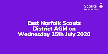 East Norfolk District AGM tickets