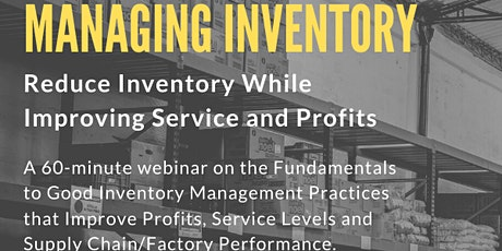 Managing Inventory tickets