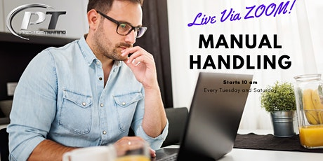 Manual Handling Course Galway | Via  ZOOM Saturday at 10:00am tickets