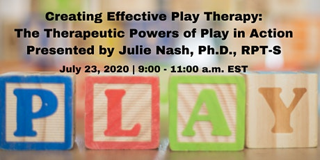 Creating Effective Play Therapy: The Therapeutic Powers of Play in Action tickets