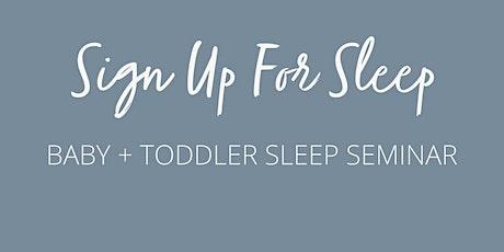 Virtual Sleep Seminar tickets