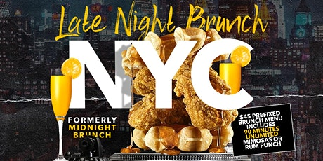 LATE NIGHT BRUNCH | FRIDAYS AT SOHO PARK NYC tickets