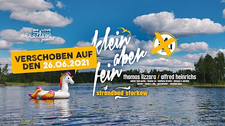 ★★★ Klein aber Fein Open Air w/ Thomas Lizzara, Alfred Heinrichs uvm. ★★★: Bild