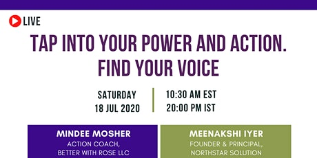 Lean In CWL: Tap Into Your Power and Action. Find Your Voice tickets