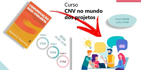 Curso CNV no mundo dos projetos bilhetes