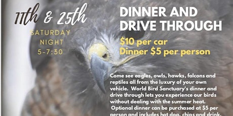 Dinner & Drive Through tickets