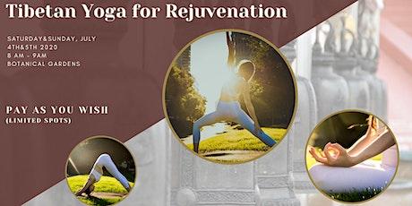 Morning cup of Tibetan Yoga tickets