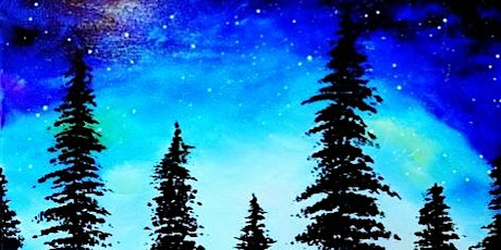 IN-STUDIO CLASS Galactic Night Sky Thurs July 30th 6:30pm $35 tickets
