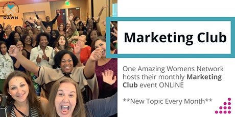 Marketing Club - Free Up Your Time And Grow Your Business tickets