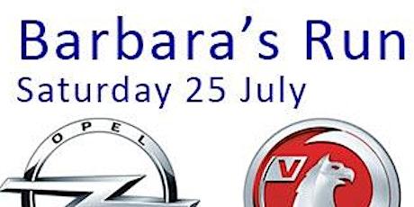 Barbara's Run tickets