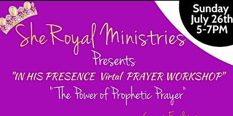 In His Presence: Prayer Workshop tickets