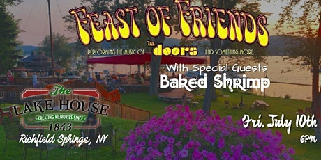 CANCELLED Feast of Friends Doors Tribute w/ Baked Shrimp tickets