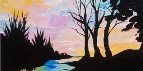 IN-STUDIO CLASS  Sunset Reflection Fri July 24th 6:30pm $35 tickets
