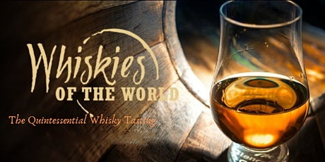 Whiskies of the World American Whiskey Tasting tickets