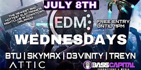 EDM Wednesdays! Feat: BTU, Skymax, D3vinity, Treyn tickets