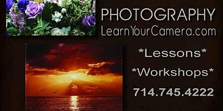Redlands Small Group Beginner Digital Camera Class tickets
