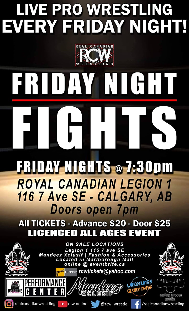 RCW FRIDAY NIGHT FIGHTS image