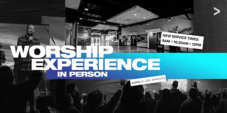 Worship Experience In Person (July 5th) tickets