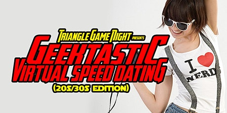 Geektastic Virtual Speed Dating (20s/30s Edition) tickets