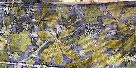 Atelier virtuel d'Impression Botanique sur Tissus avec teinture naturelle tickets
