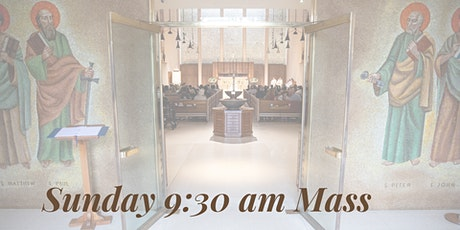 Sunday 9:30 am Mass at Saint Paul the Apostle tickets