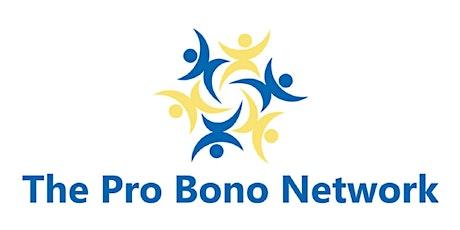 2020 Virtual Pro Bono Network Conference tickets