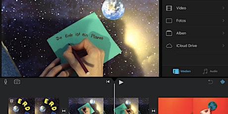 ABGESAGT - Digital Art: Erklärfilm mit iMovie produzieren Tickets