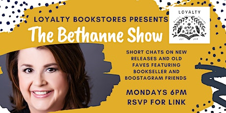 The Bethanne Show! tickets