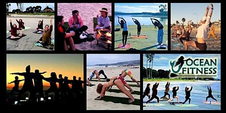 FULL MOON Sunset Beach Yoga, Fitness, and Bonfire Adventure! tickets