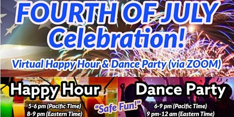 FREE Zoom Virtual Dance Party for the 4th of July!! It will be a blast!! tickets