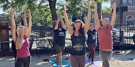 All-Levels Patio Yoga Class - [Bottoms Up! Yoga & Brew] tickets